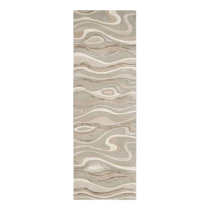 Modern Classics Handmade Gray Area Rug Rug Size: Runner 2'6