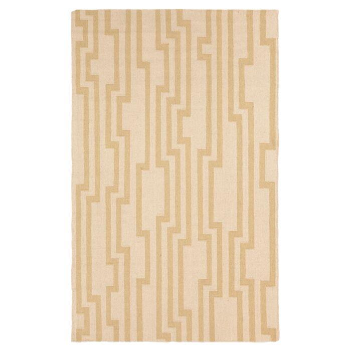 Market Place Parchment Brown/Tan Area Rug Rug Size: Rectangle 8' x 11'