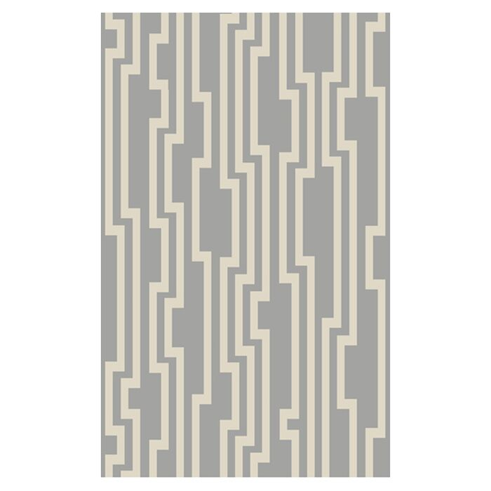Modern Classics Flint Gray Area Rug Rug Size: Rectangle 9' x 13'