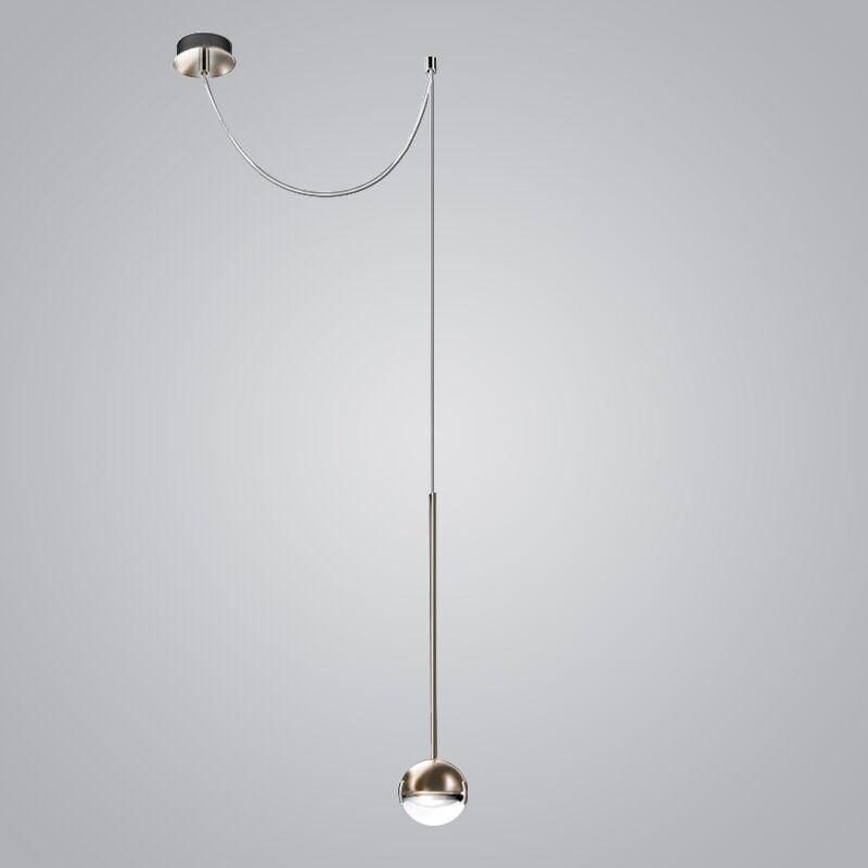 1-Light Globe Pendant Finish: Nickel/Satin