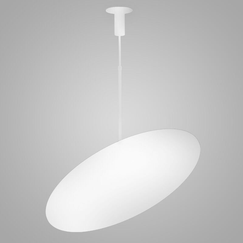 Hoop 4-Light  LED  Pendant Finish: White