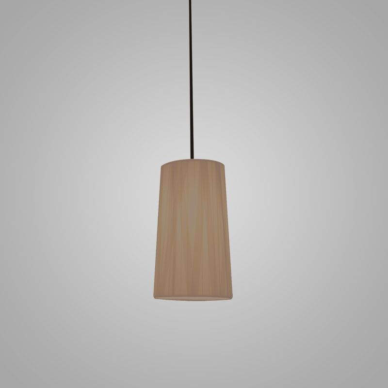 Dress 1-Light Cylinder Pendant Finish: Taupe