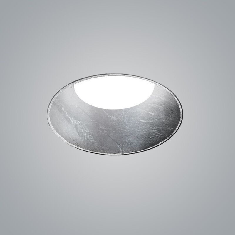 Kone Remodel Non-IC Recessed Housing Finish: Silver Leaf