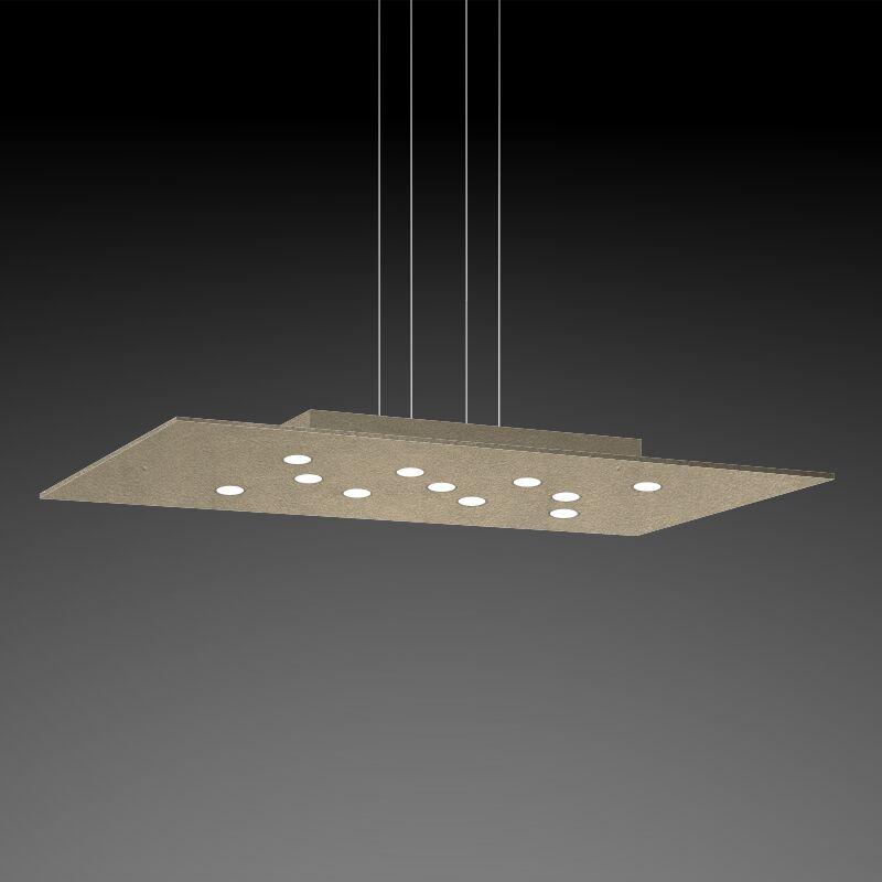 Pop 11-Light Geometric Chandelier Fixture Finish: Gold Silver