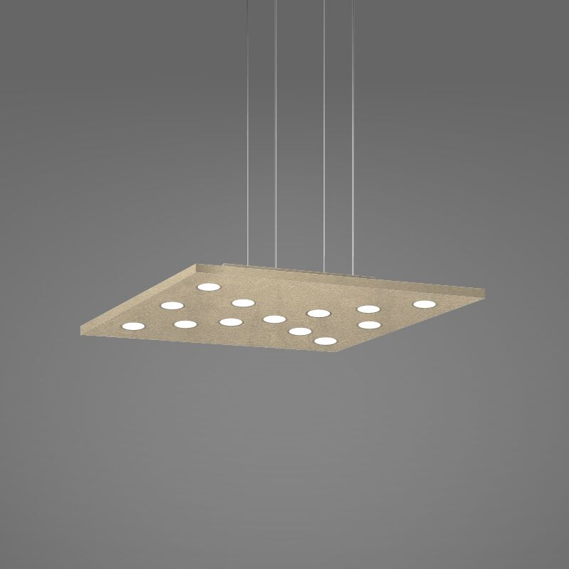 Pop 11-Light Geometric Chandelier Finish: Gold Silver