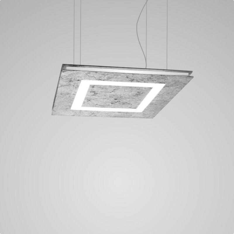Flat 2-Light  LED  Pendant Finish: Silver Leaf