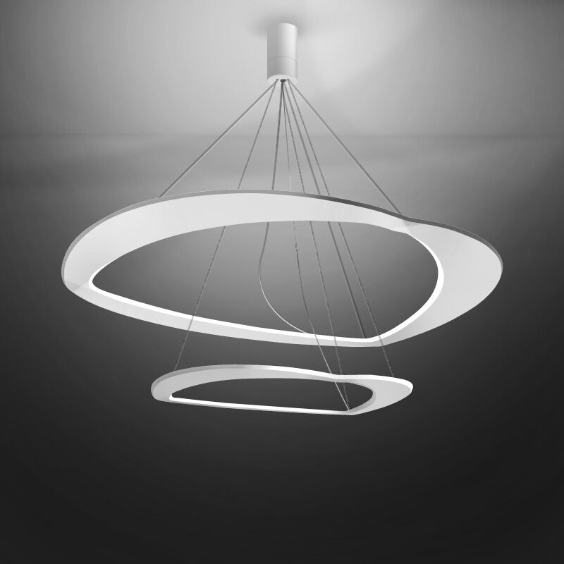 Diadema 1-Light  LED  Pendant Finish: White