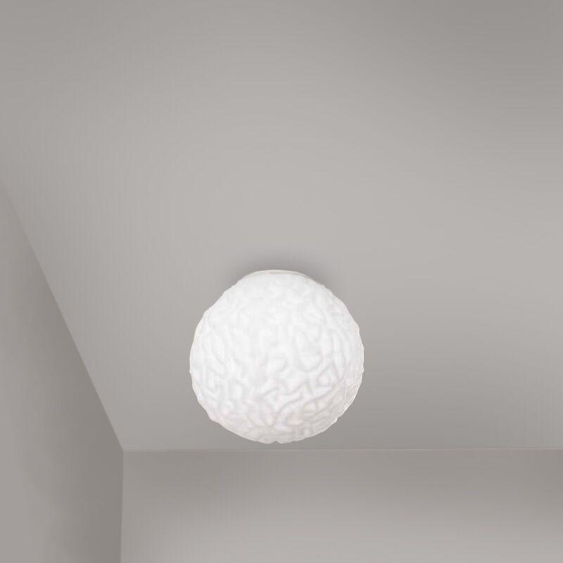 1-Light Flush Mount Size: 9.81