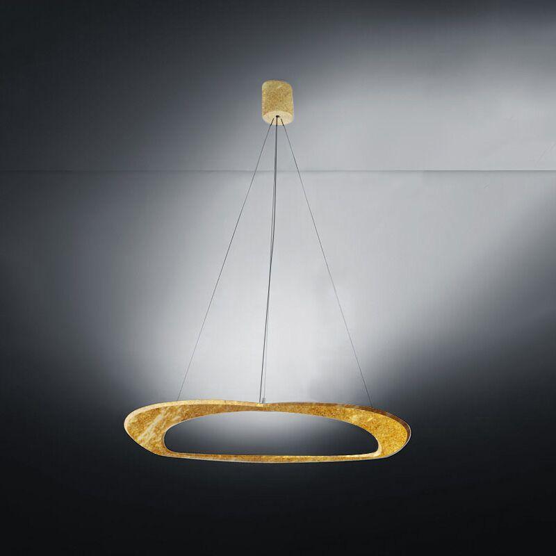 Diadema 3-Light  LED  Pendant Finish: Gold Leaf