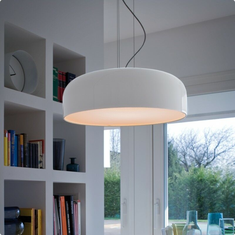 Mai 2-Light Dome Pendant Shade Color: Glossy White/Orange