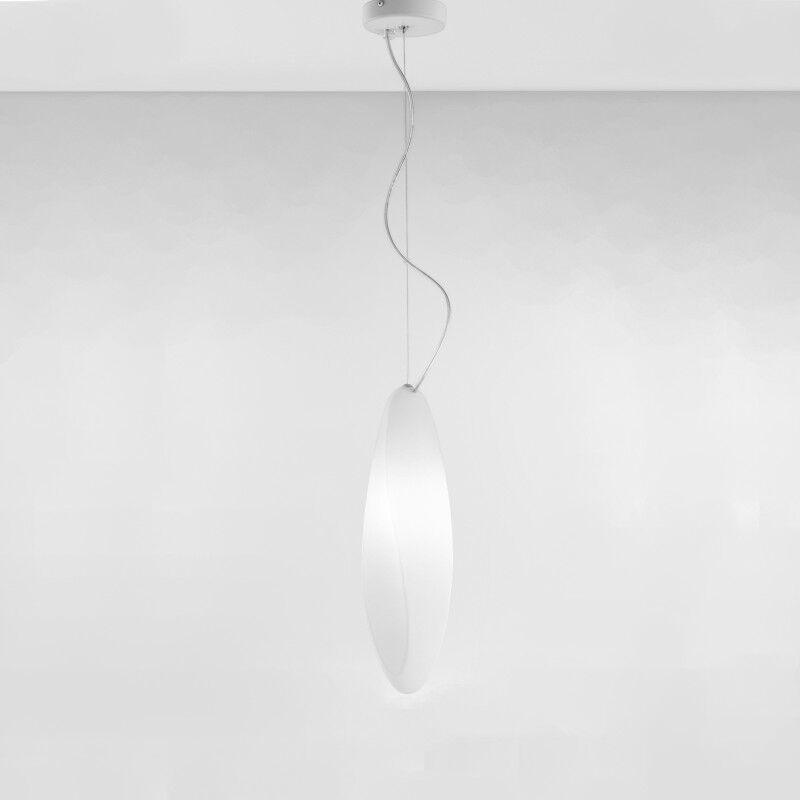 Track 1-Light Novelty Pendant Canopy: Yes, Finish: White
