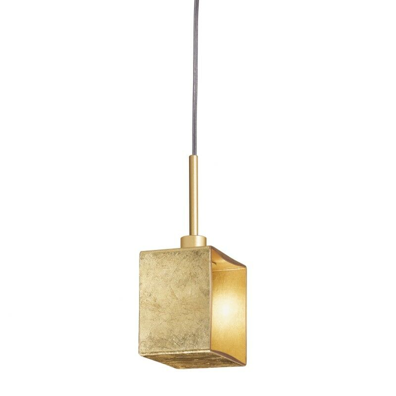 Domino 1-Light Square/Rectangle Pendant Size: 10.25