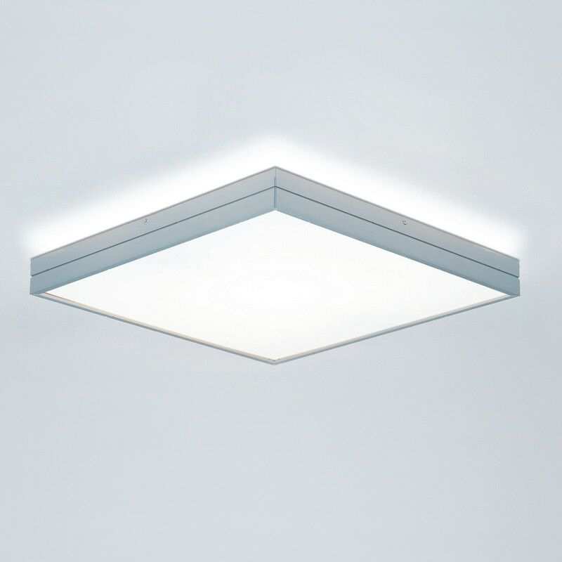 Linea 1-Light Flush Mount Size: Large/, Finish: Brushed Aluminum, Bulb Type: Halogen T3Q (119mm)/1 x 150W