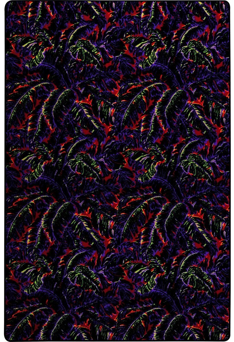 Green/Blue/Red Area Rug Rug Size: Rectangle 12' x 15'