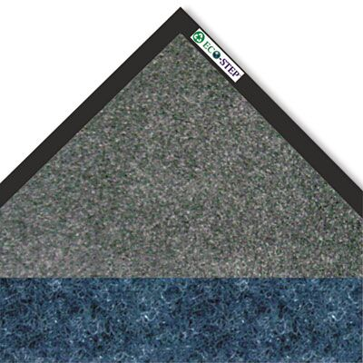 Eco-Step Doormat Color: Midnight Blue, Mat Size: Rectangle 4' x 6'