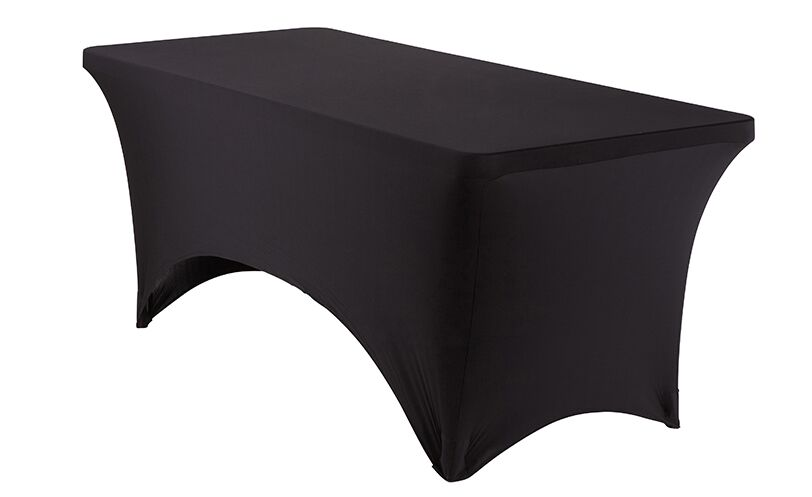 Fabric Table Cover (Set of 6) Size: 29