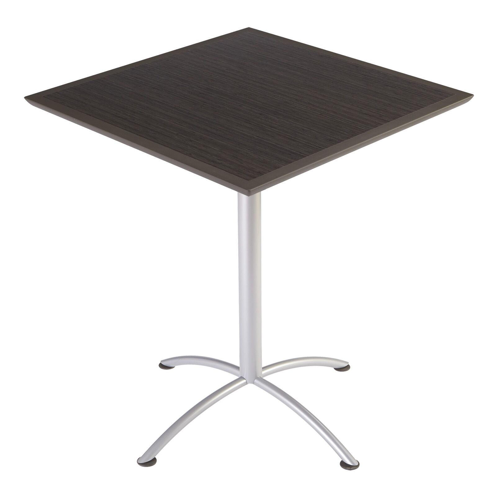 iLand Square Conference Table Top Finish: Gray / Walnut, Size: 42