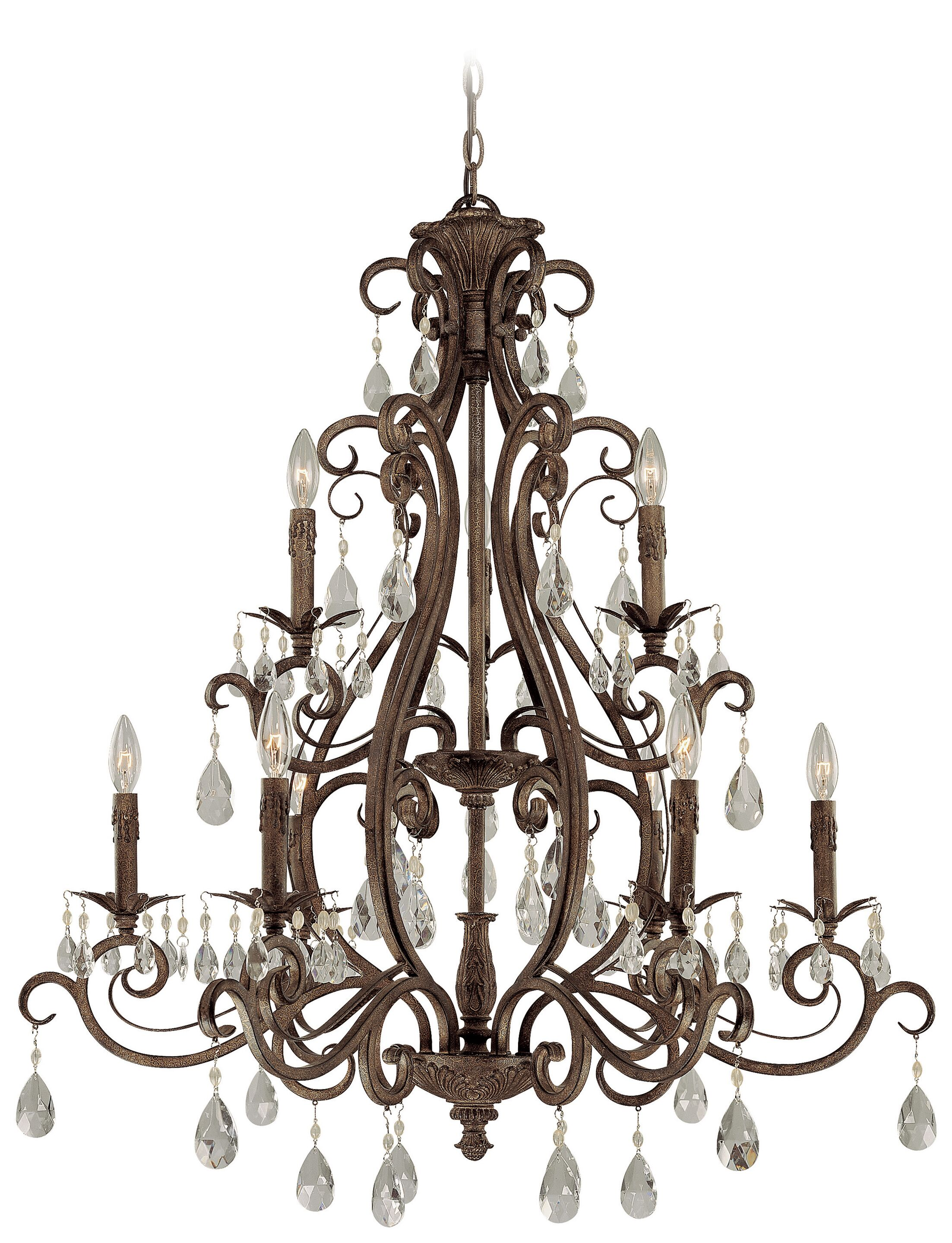 Lilliane 9-Light Candle Style Chandelier
