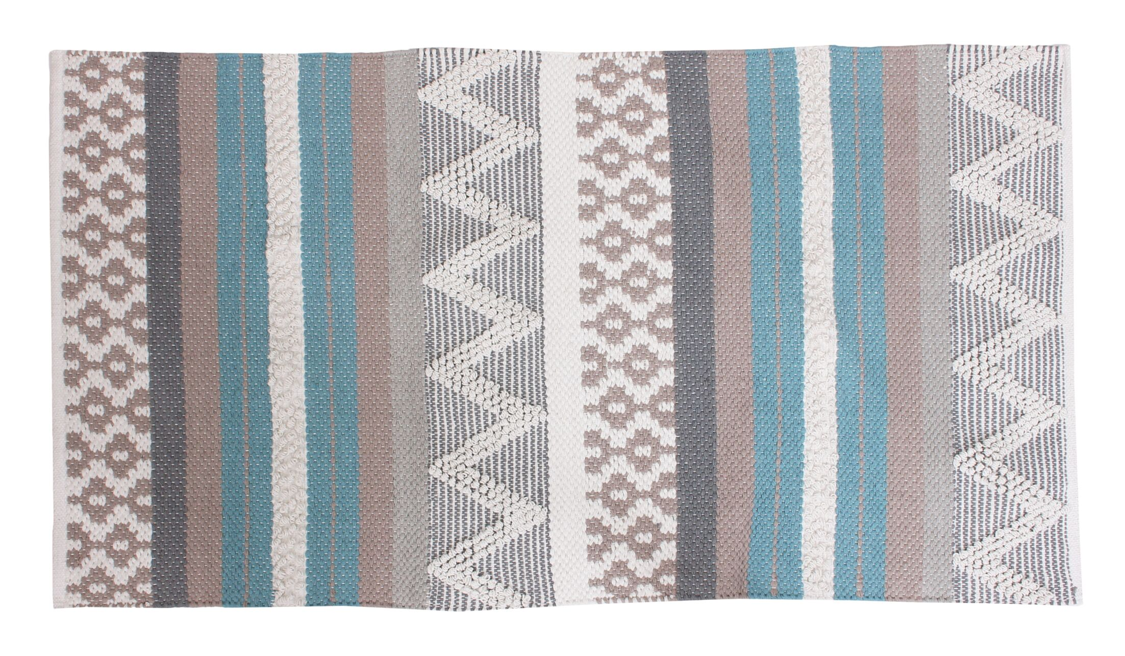 Jayden Blue/Gray Area Rug