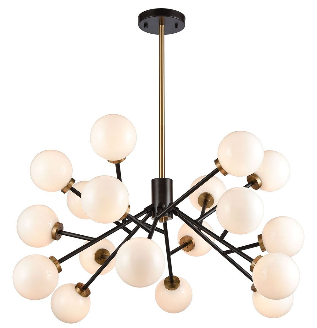 Isai 20-Light Sputnik Chandelier
