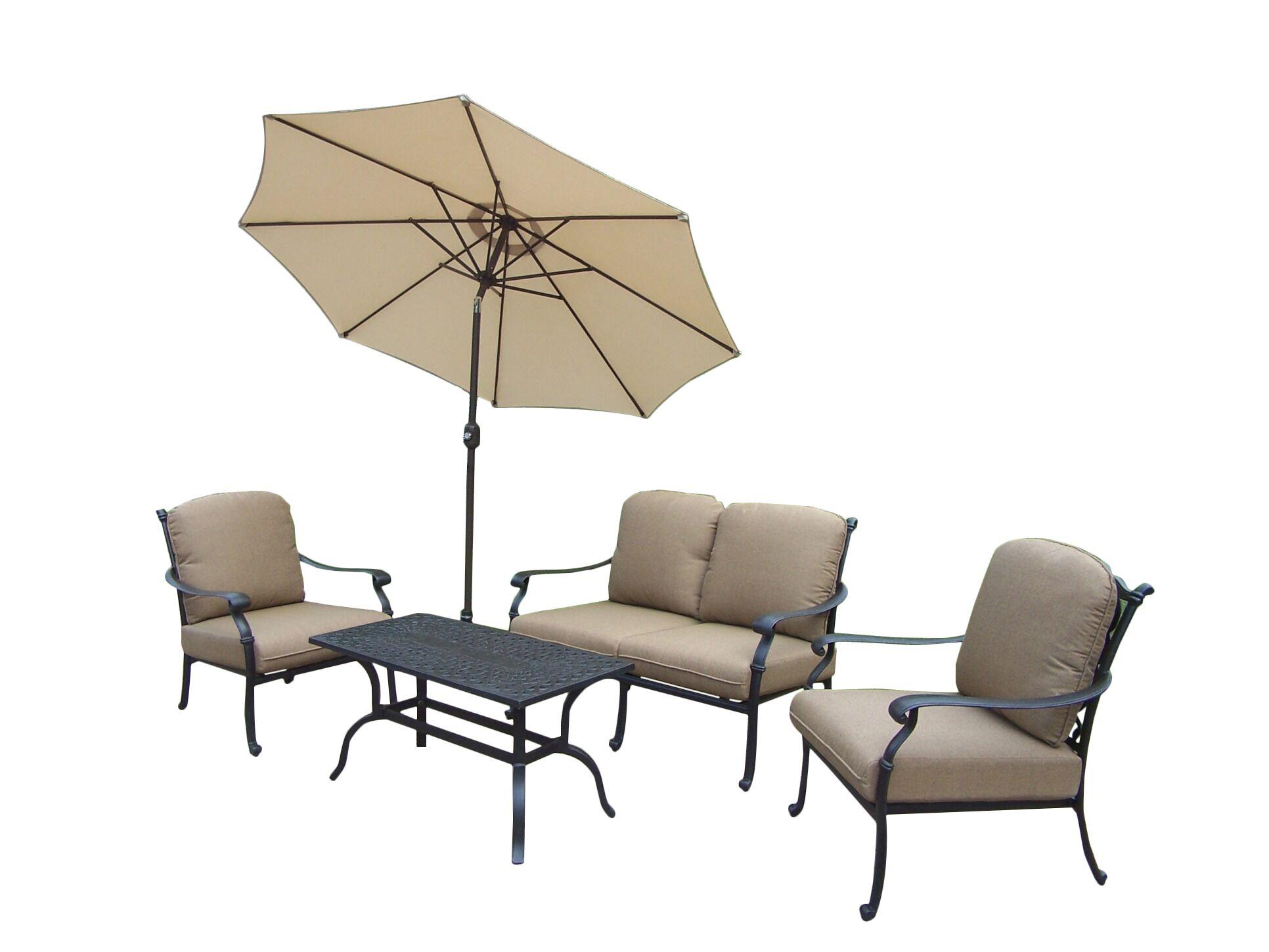 Bosch 5 Piece Sofa Set with Cushions