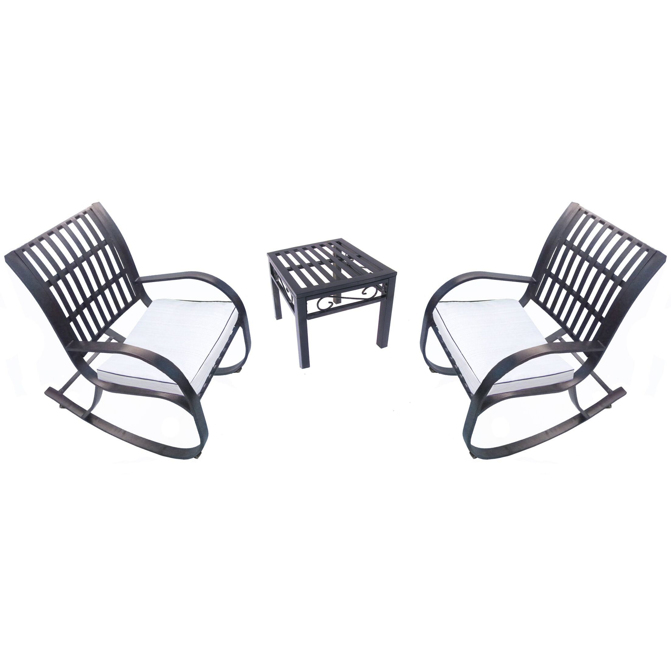 Noble 3 Piece Dining Set with Cushions