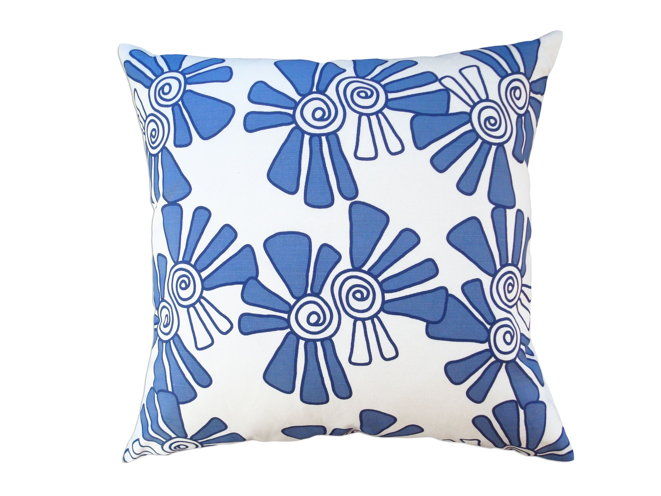 Alex Throw Pillow Color: Red, Size: 14