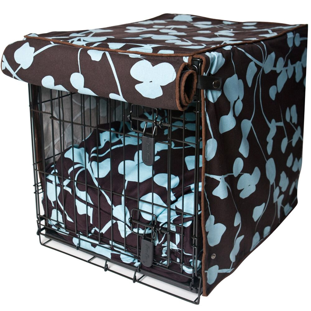 Kurt Your Hand In Mine Dog Crate Cover Size: 27