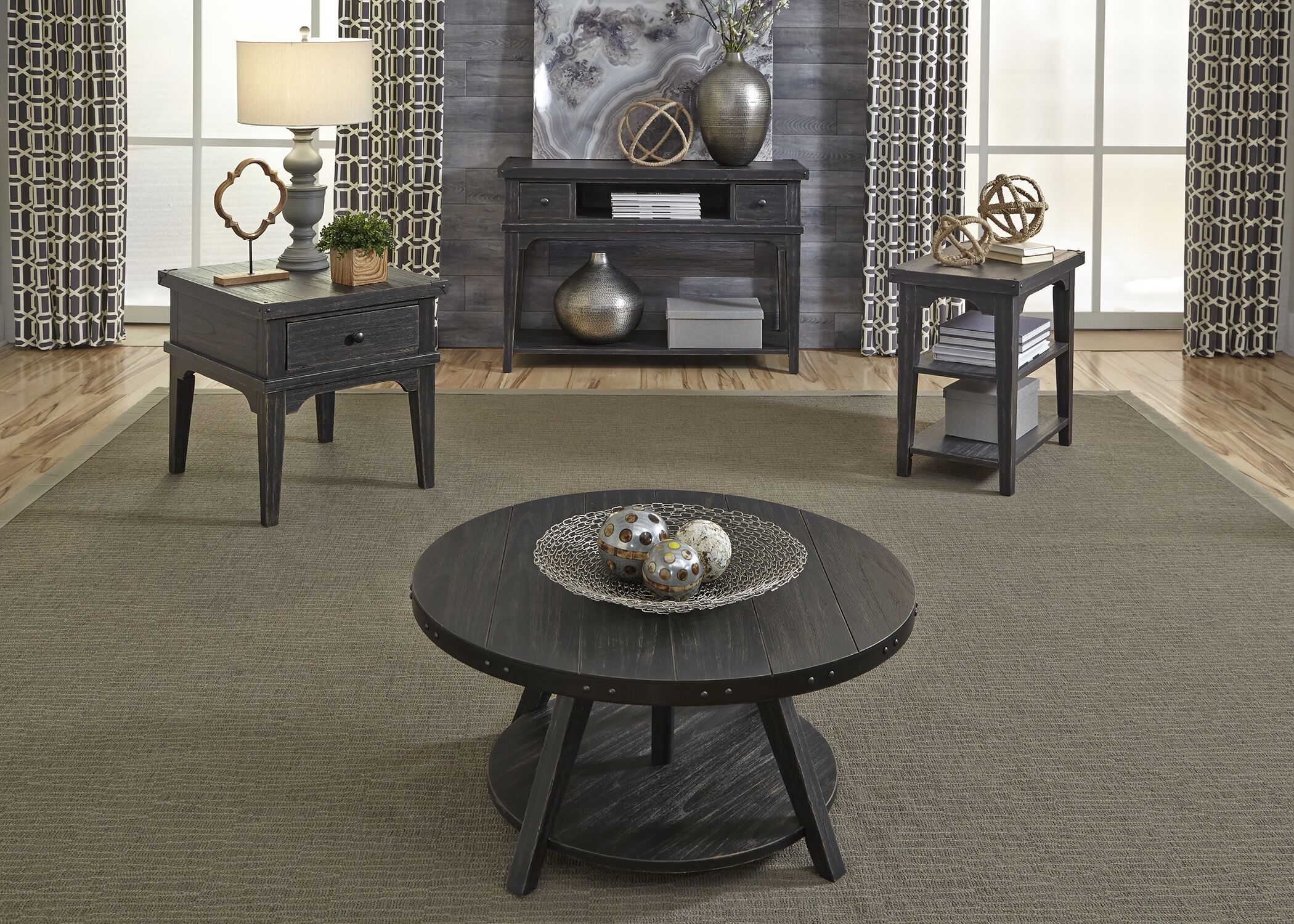Adalard Motione Coffee Table Set