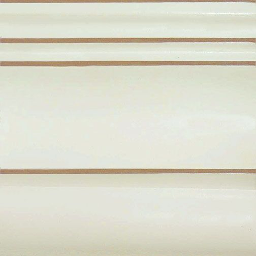 Slatted Queen Panel Bed Color: Distressed White