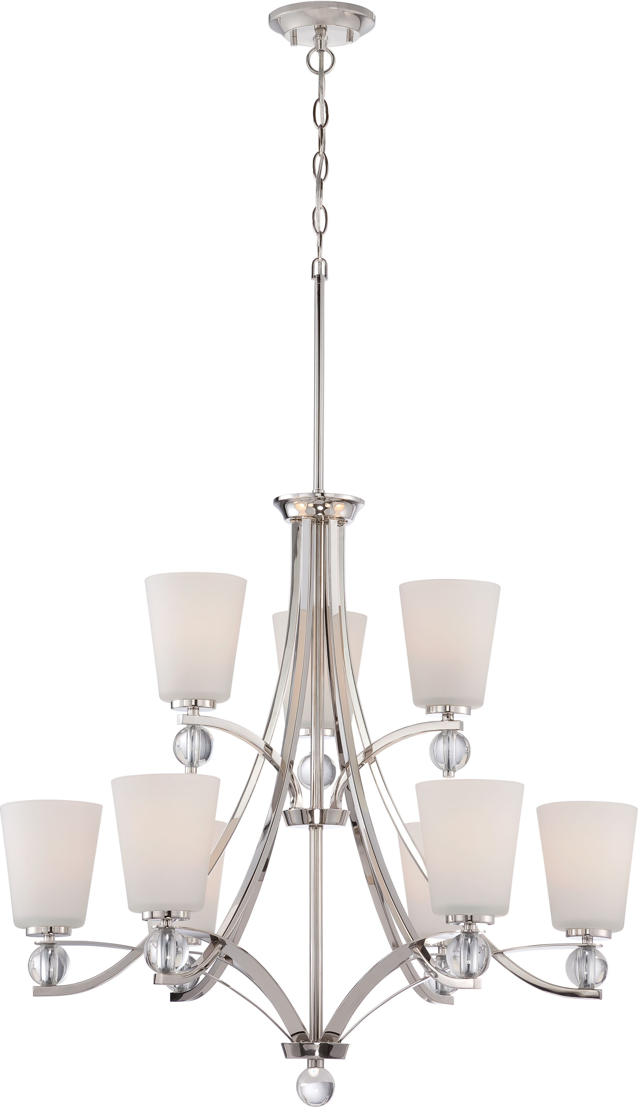 Gace 9-Light Shaded Chandelier