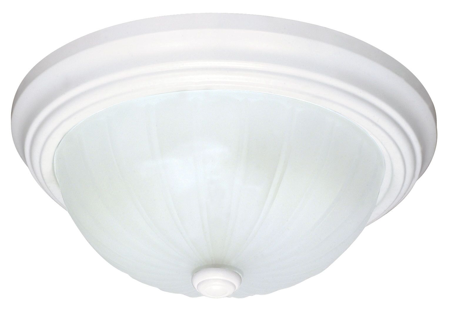 Camille Energy Star Glass Shade Flush Mount Size: 5.5