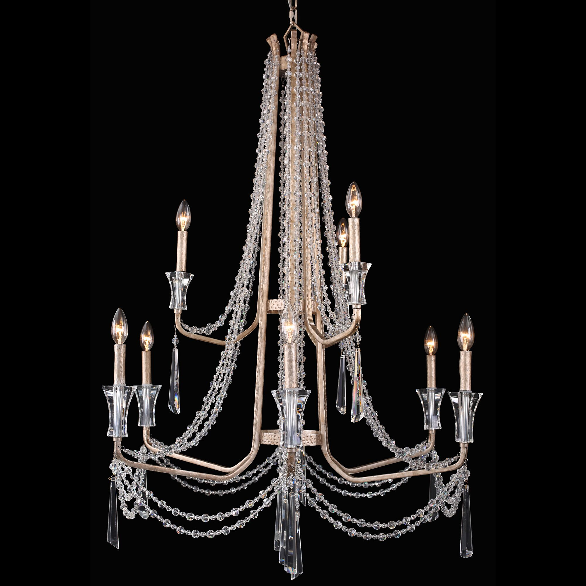 Jarrett 9-Light Crystal Chandelier