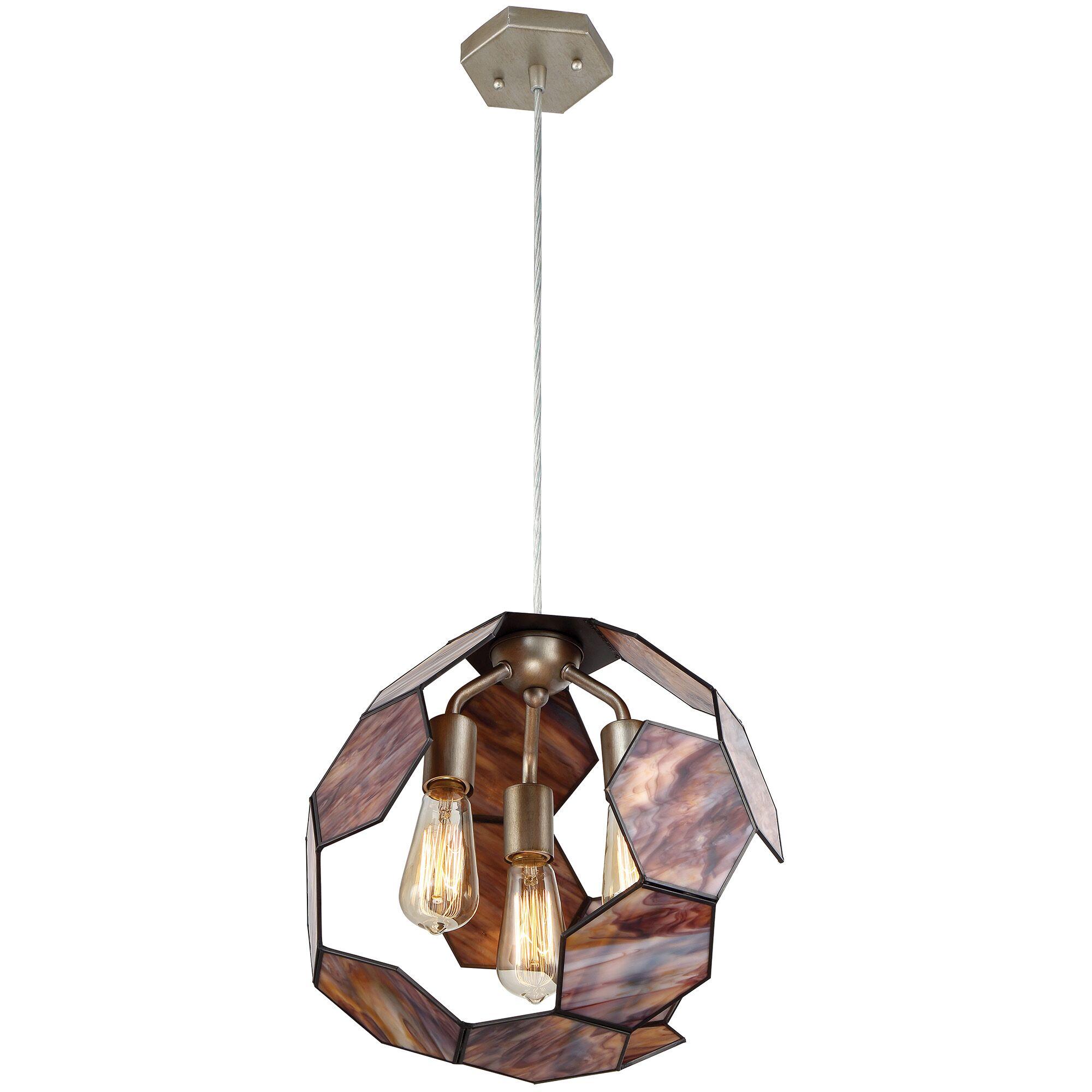 Honeycomb 3-Light Pendant