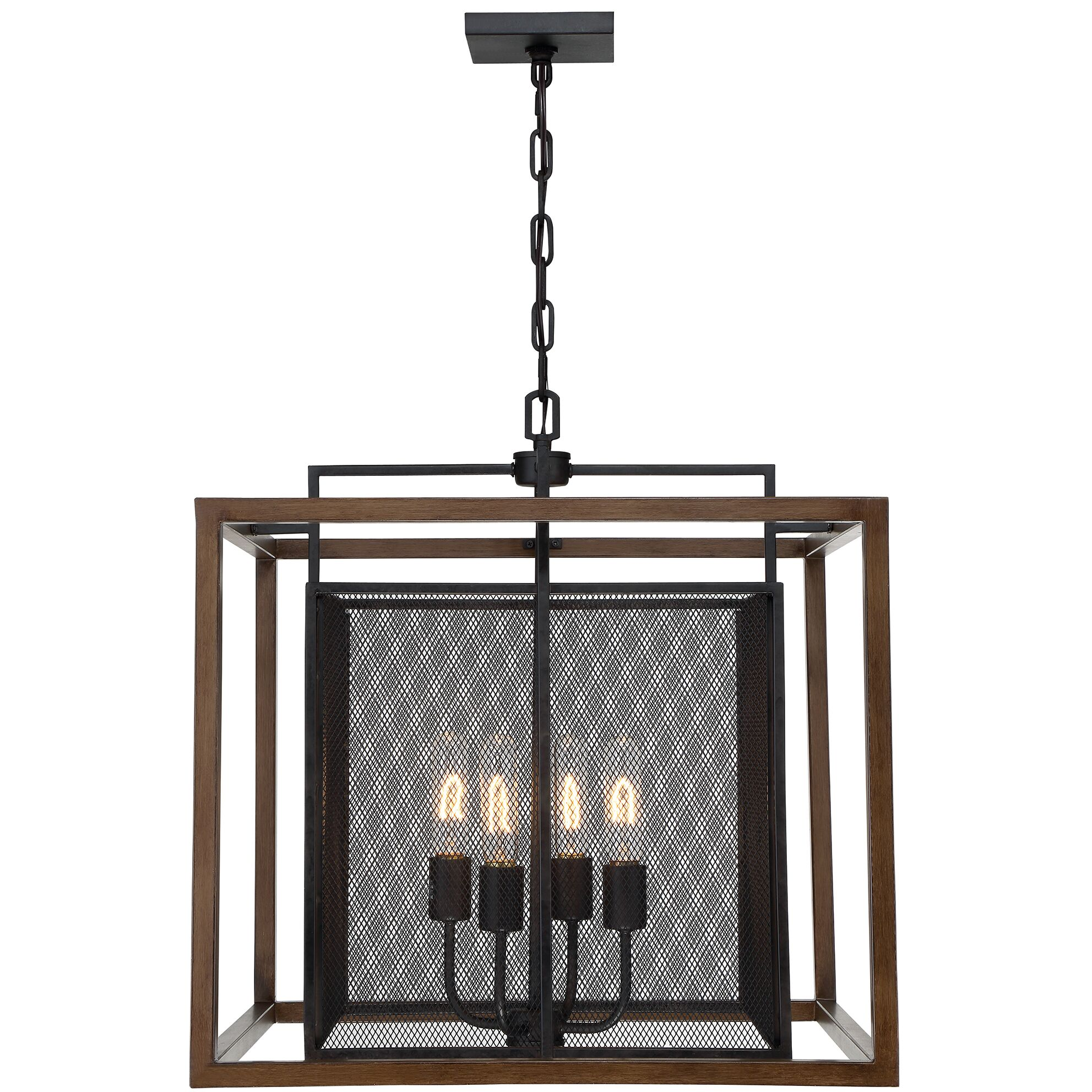 Minor 4-Light Foyer Pendant