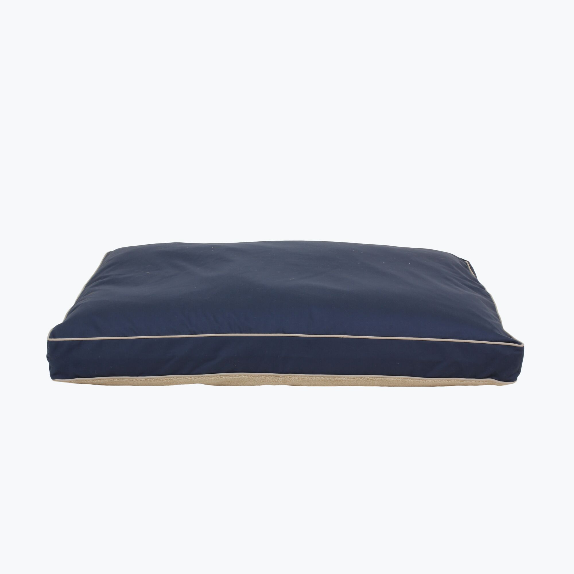 Clarke Four Season Dog Pillow with Cashmere Berber Top Size: Large, Color: Blue