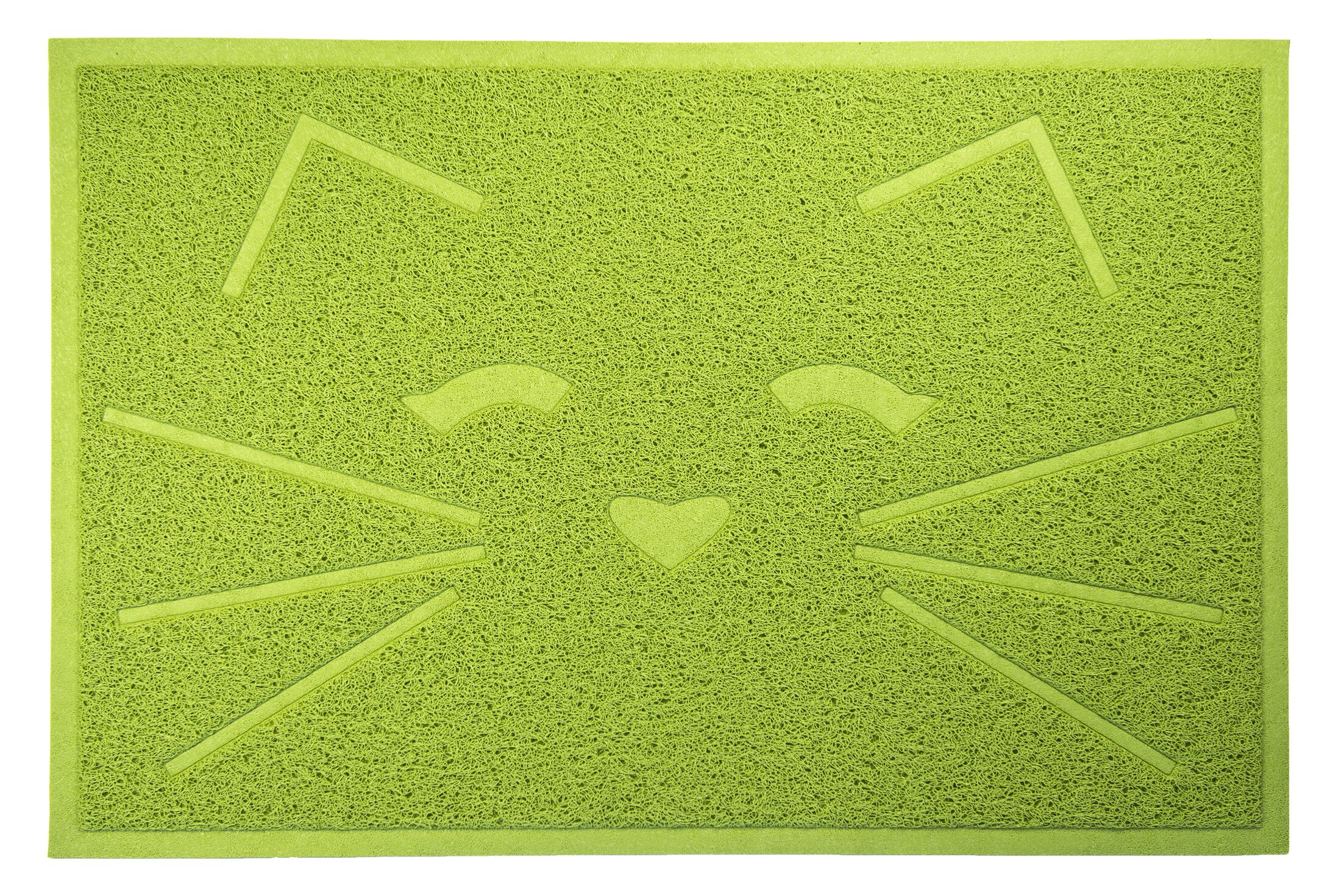 Arteaga Tidy Paw Litter and Food Mat Color: Green