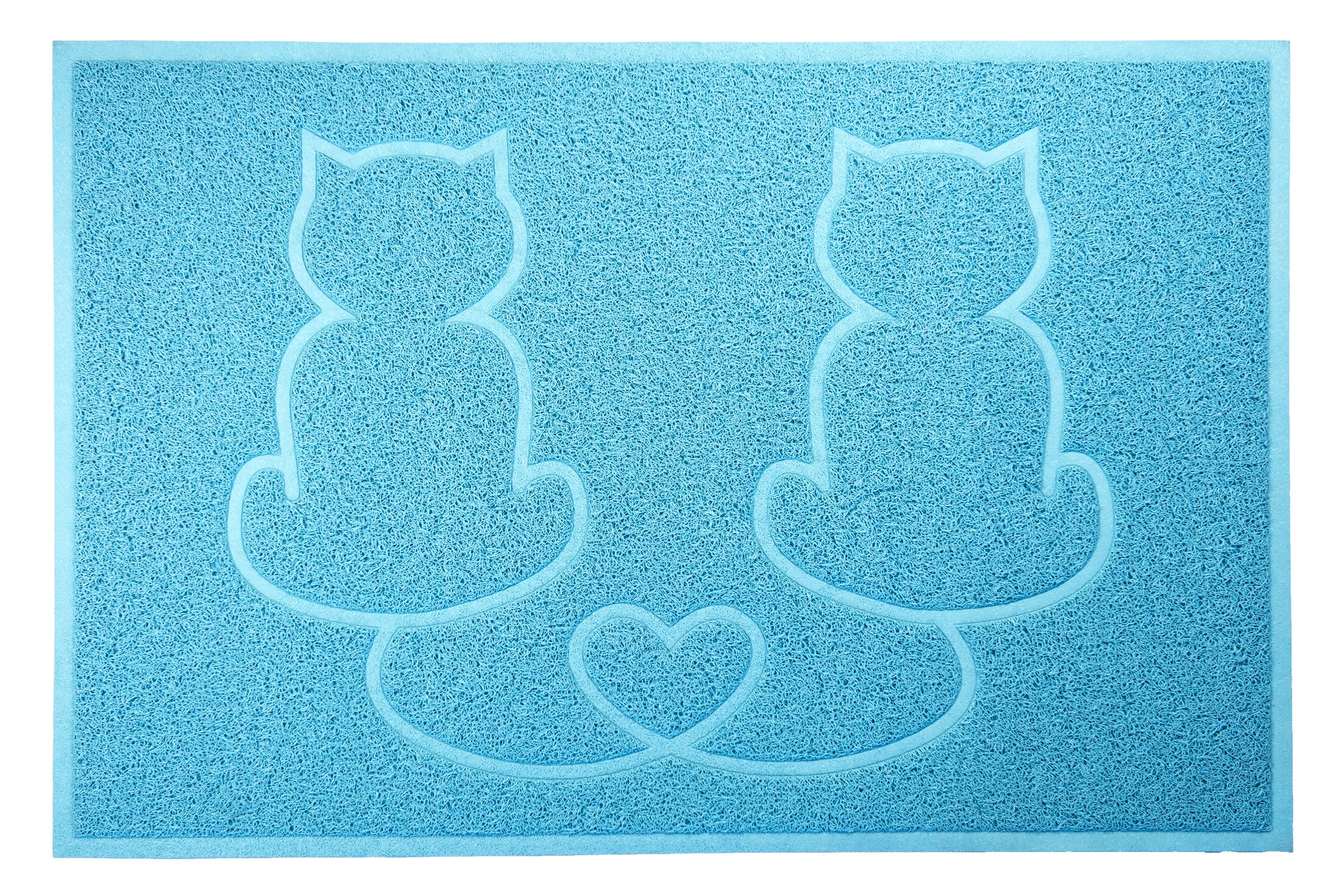 Artrip Tidy Paws Litter and Food Mat Color: Egg