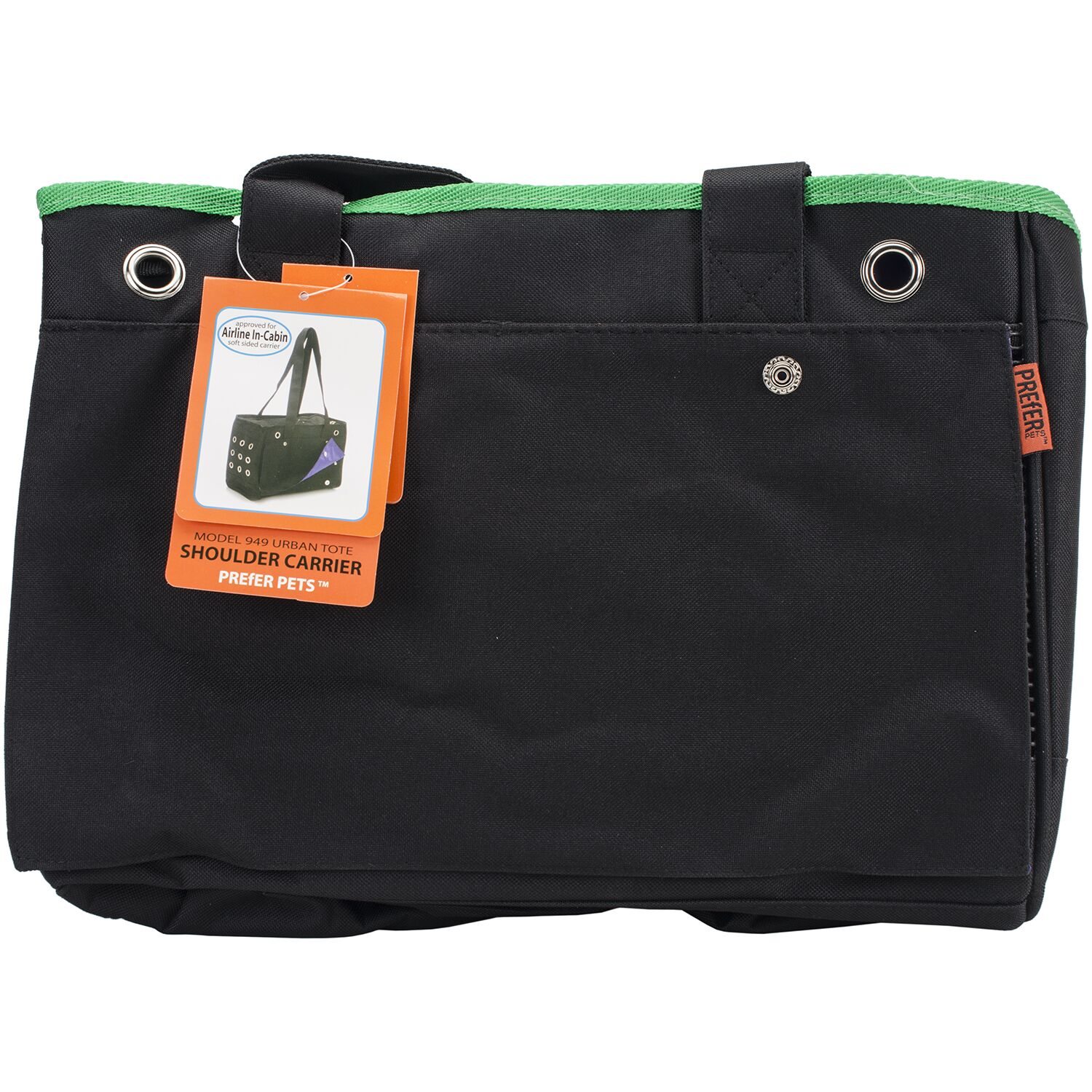 Urban Tote Pet Carrier Color: Green