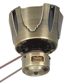 Brewmaster Series Ceiling Fan Motor Finish: Antique Brass