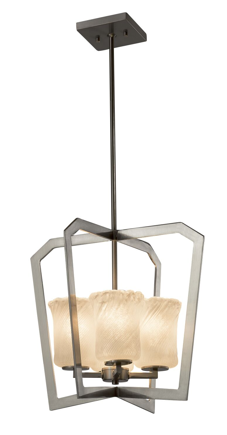 Kelli 4-Light Foyer Pendant Finish: Brushed Nickel