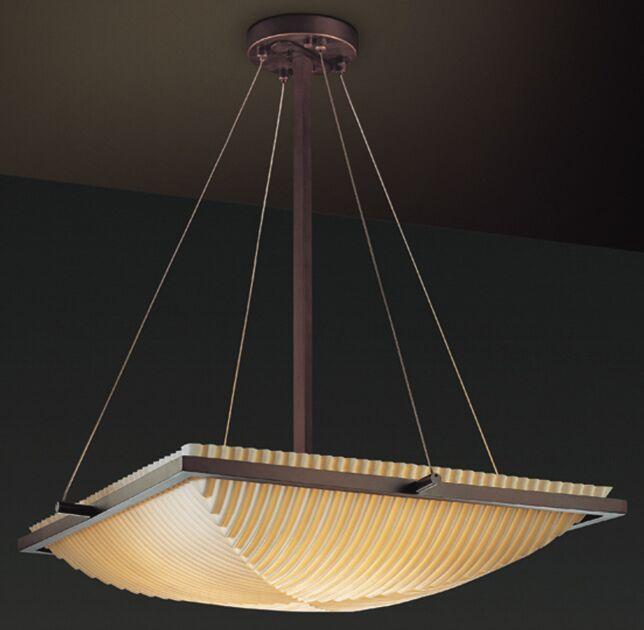Thora 3-Light Bowl Pendant Impression: Waterfall, Metal Finish: Brushed Nickel