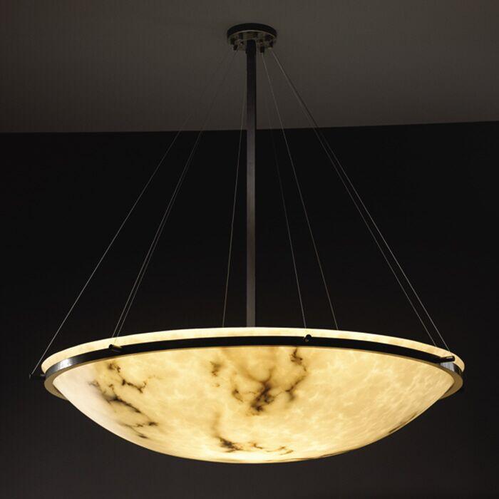 Keyon 8-Light Bowl Pendant Metal Finish: Matte Black, Size: 60