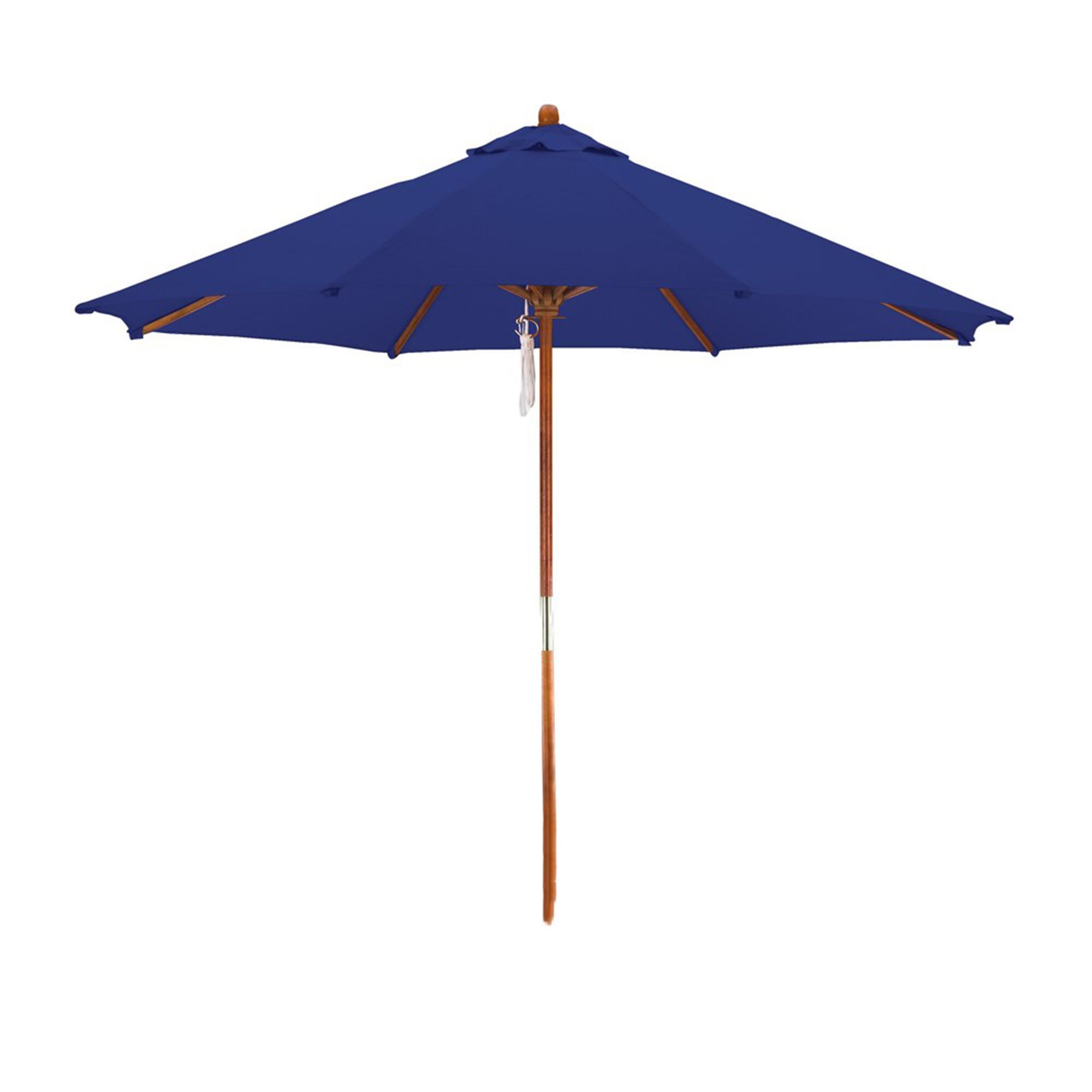 Phat Tommy 9' Market Umbrella Fabric Color: Navy