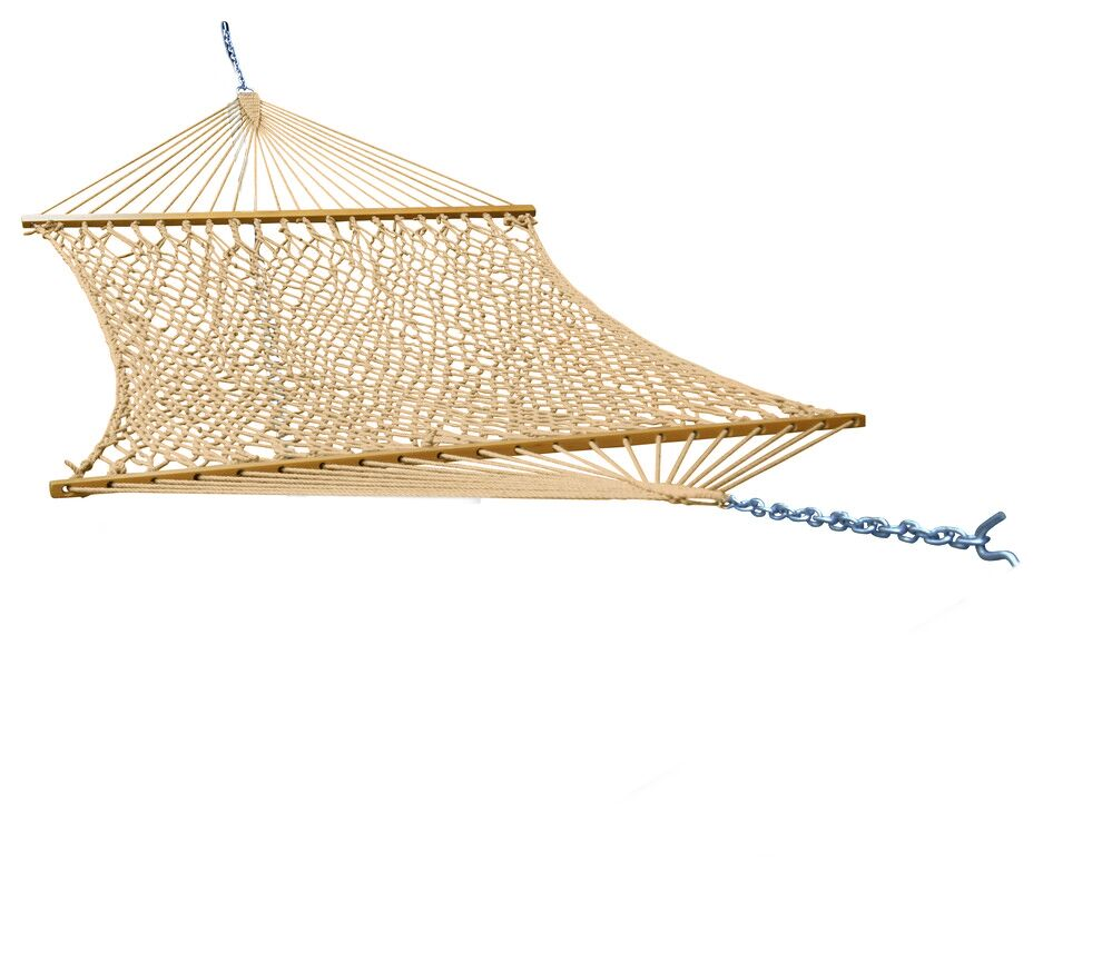 Mindi Super Soft Polyester Rope Hammock with Stand