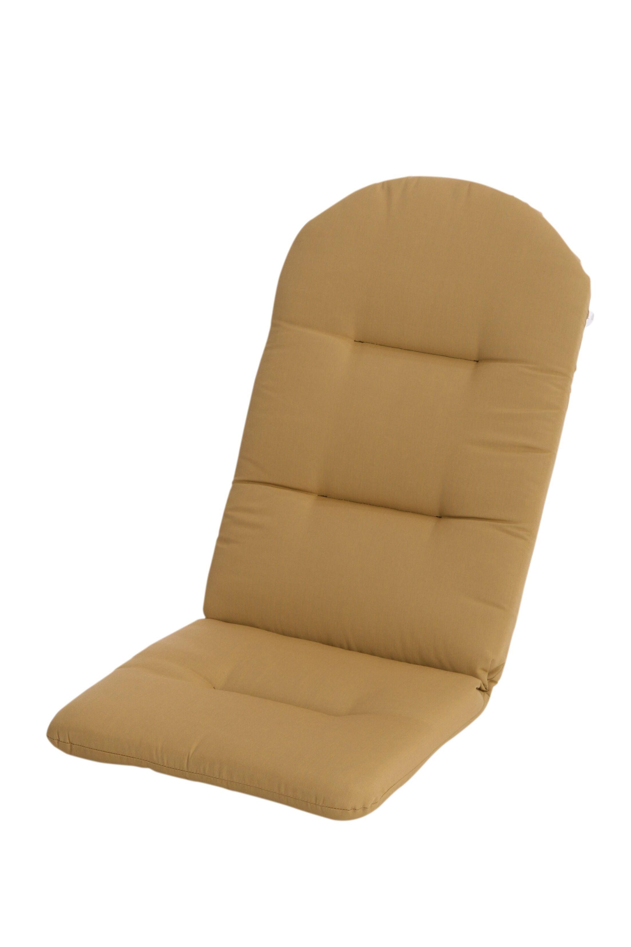 Mindi Indoor/Outdoor Sunbrella Adirondack Chair Cushion Fabric: Brass