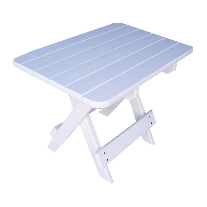 Phat Tommy Side Table Finish: Alpine White