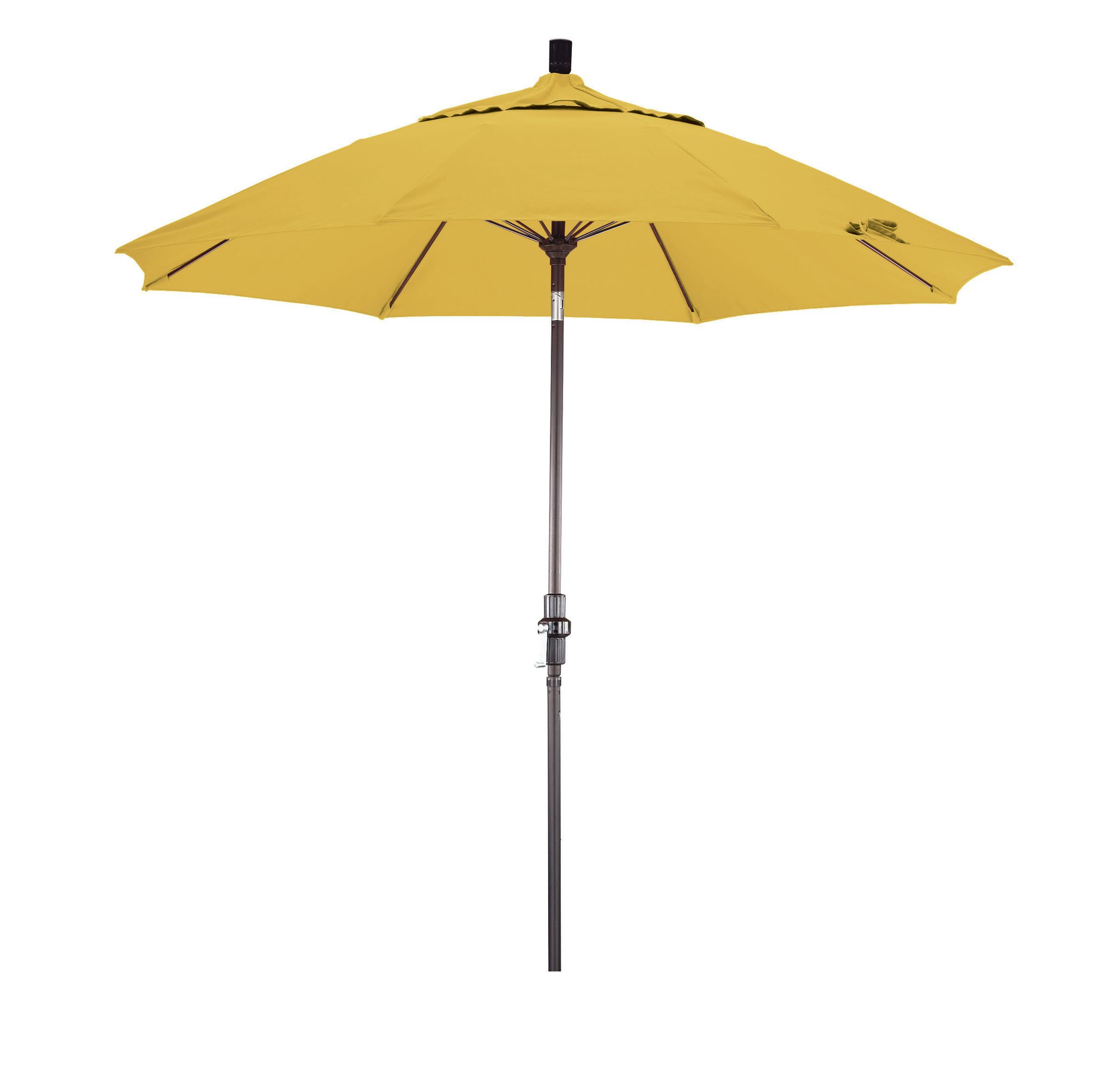 Phat Tommy 11' Market Umbrella Fabric: Yellow