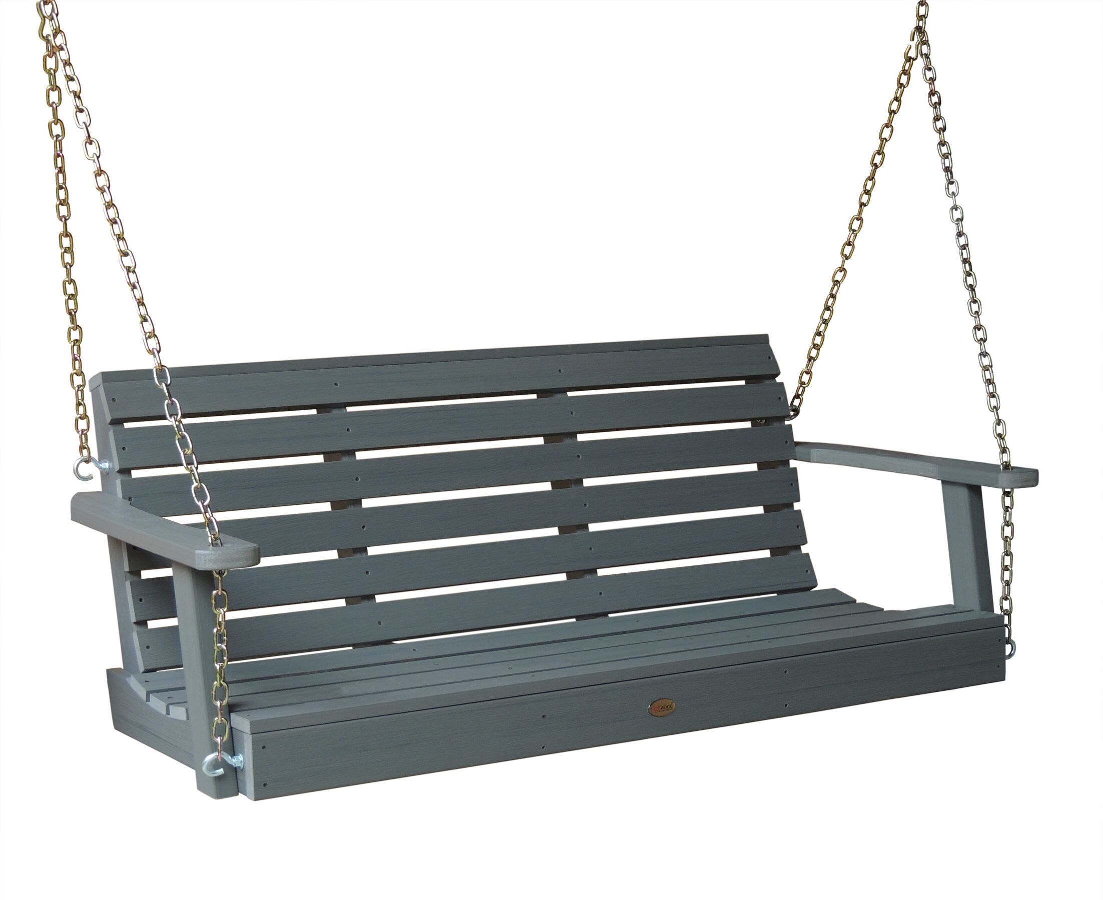 Phat Tommy Weatherly Porch Swing Finish: Teak