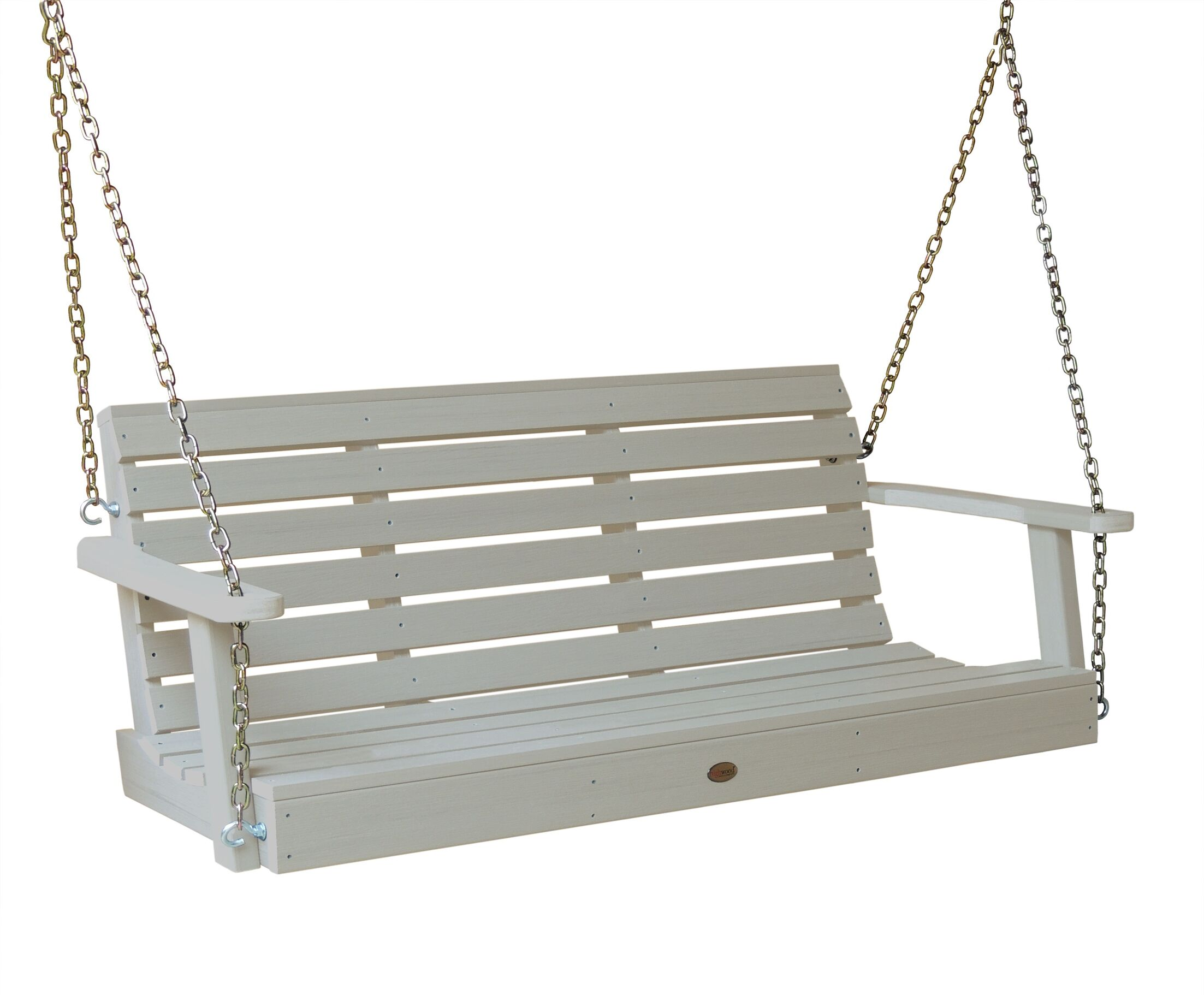 Phat Tommy Weatherly Porch Swing Finish: White Wash